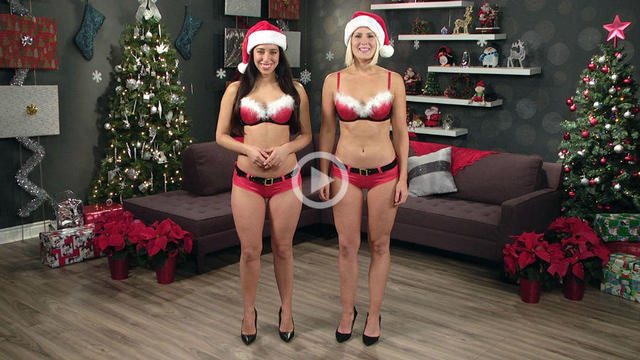 Something and Christmas naked news special your