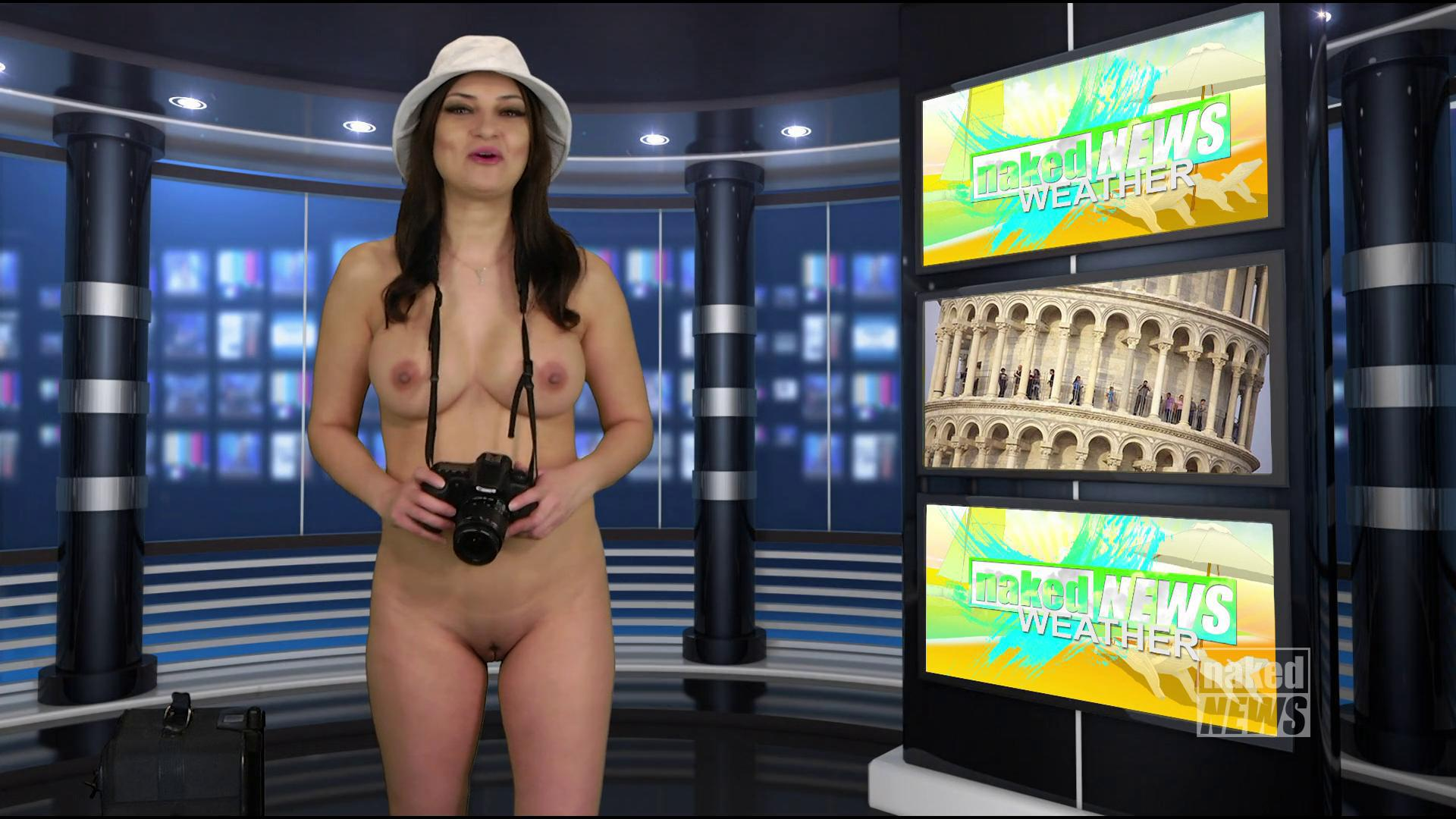 Naked news oil spill