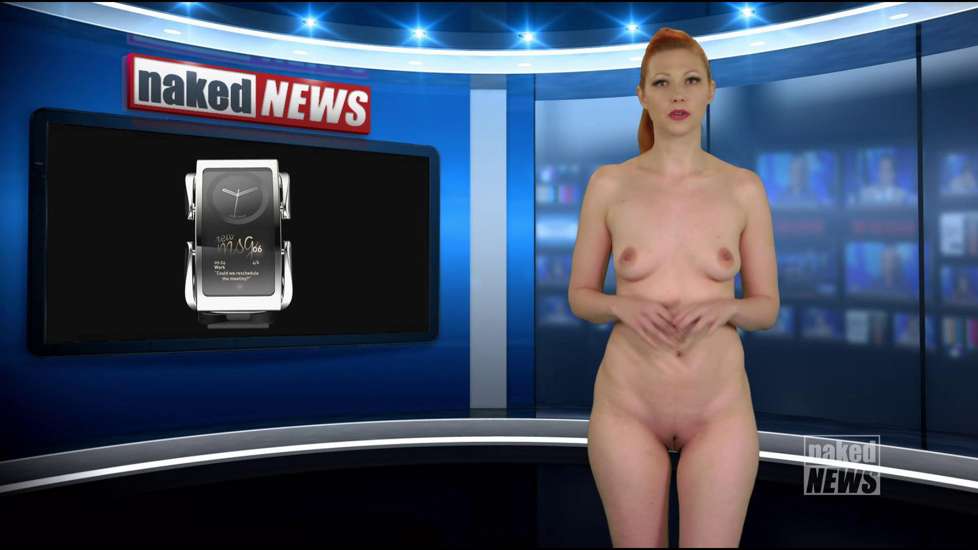 In naked news photo woman