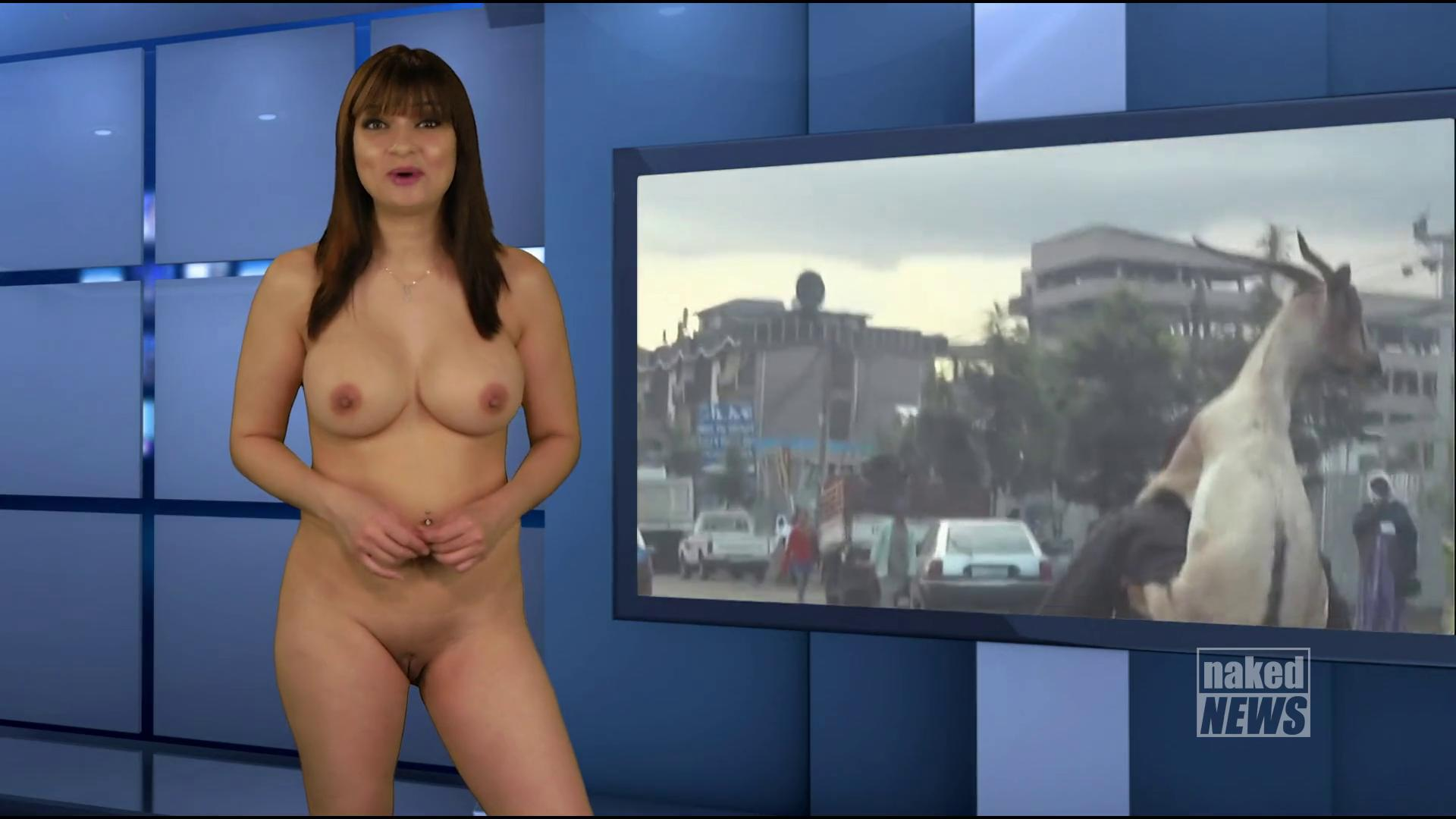 Nude Women Weather Reporters