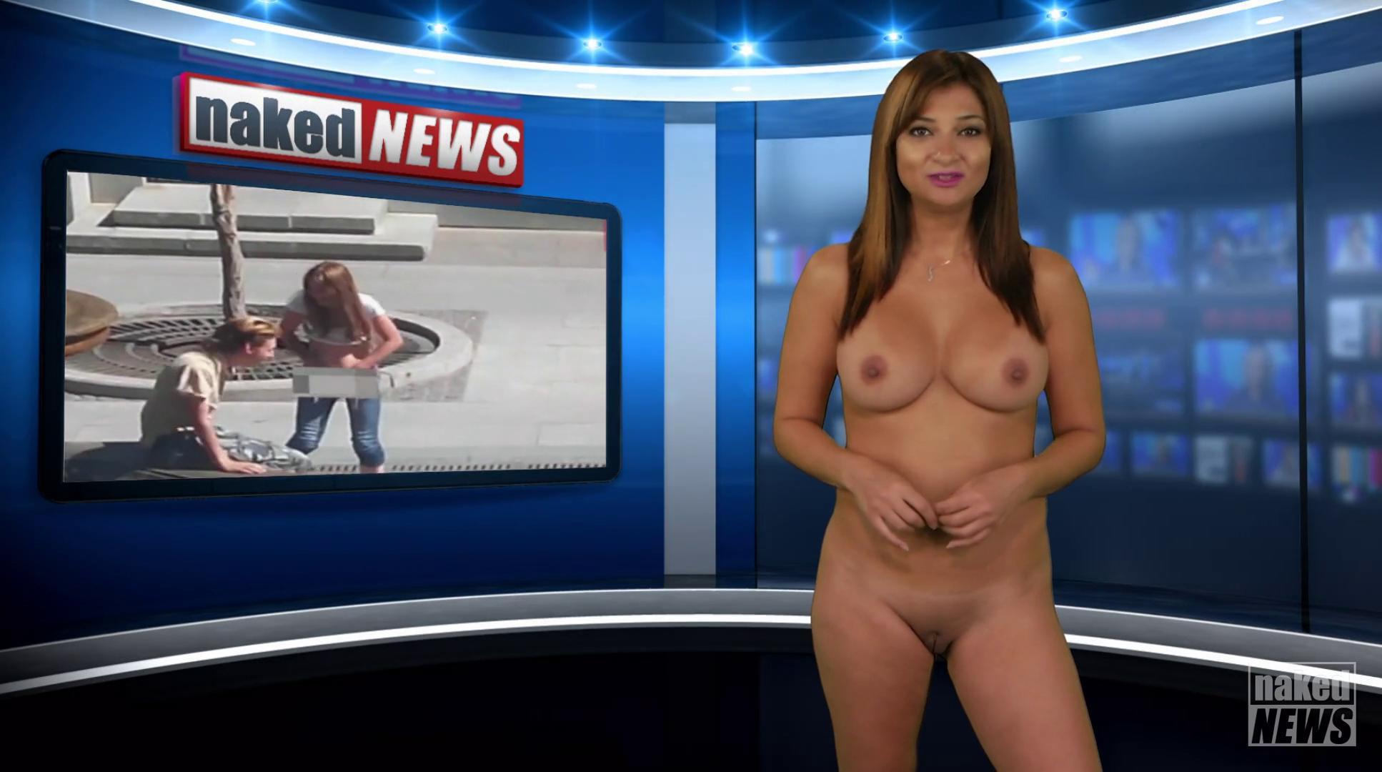 Holly weston naked news