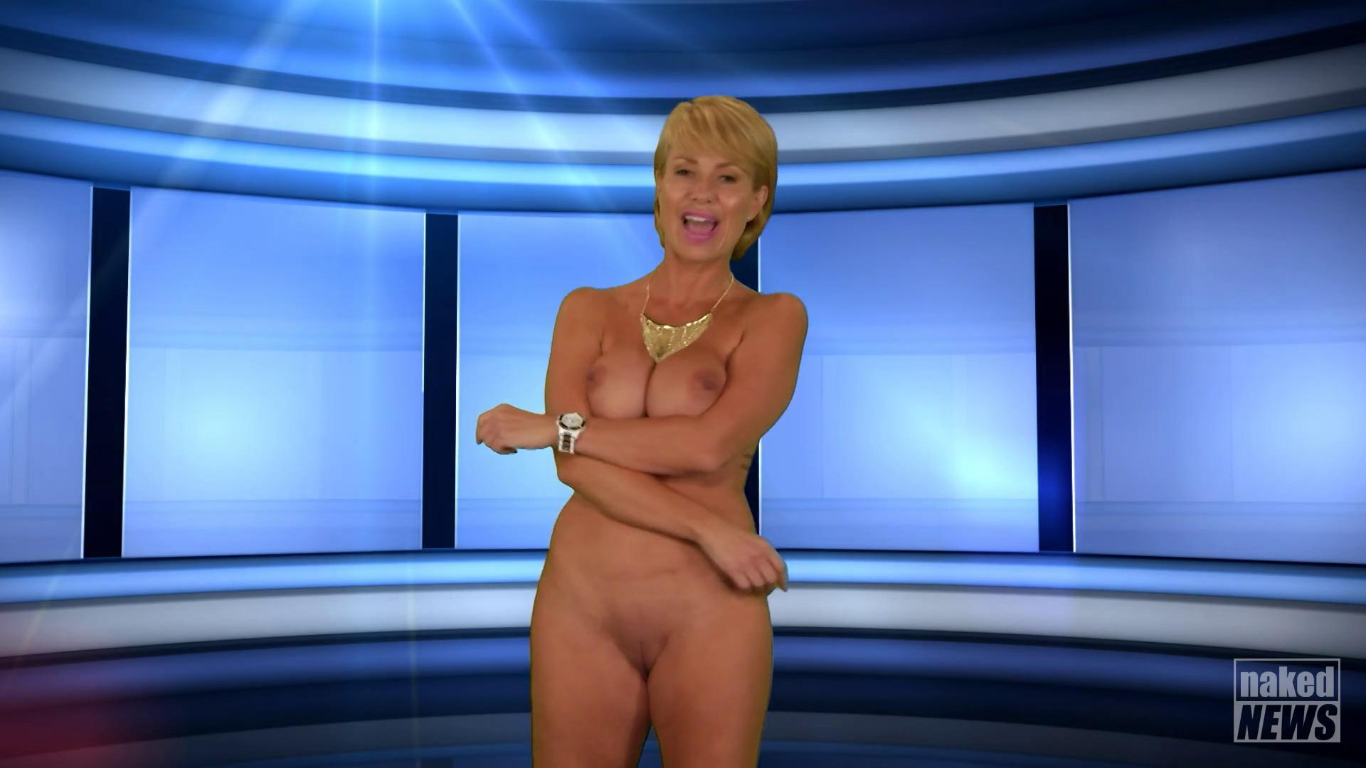 Naked news audition chloe naked news