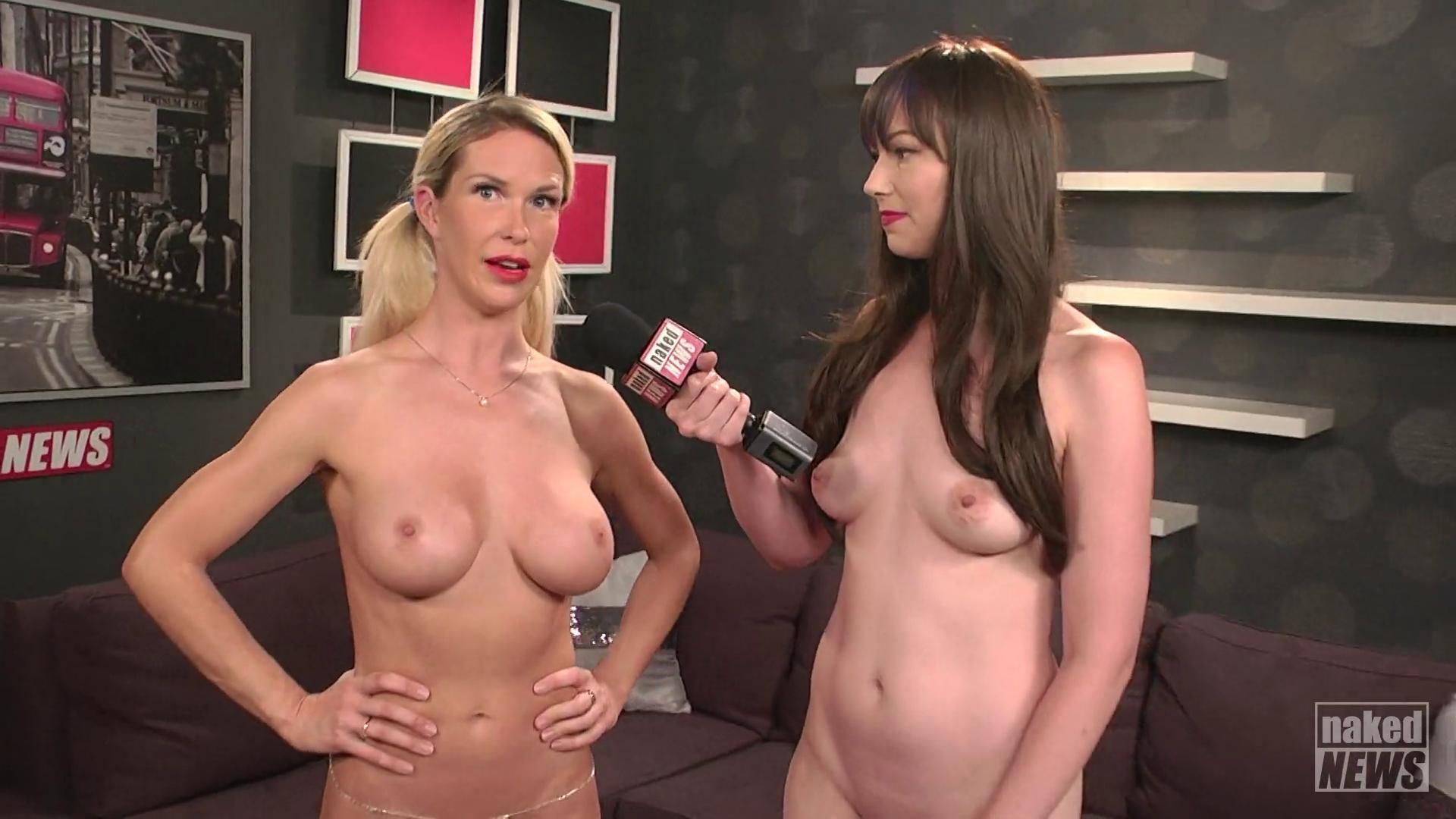 Naked News Tv Reporter Jenny Scordamaglia Parties