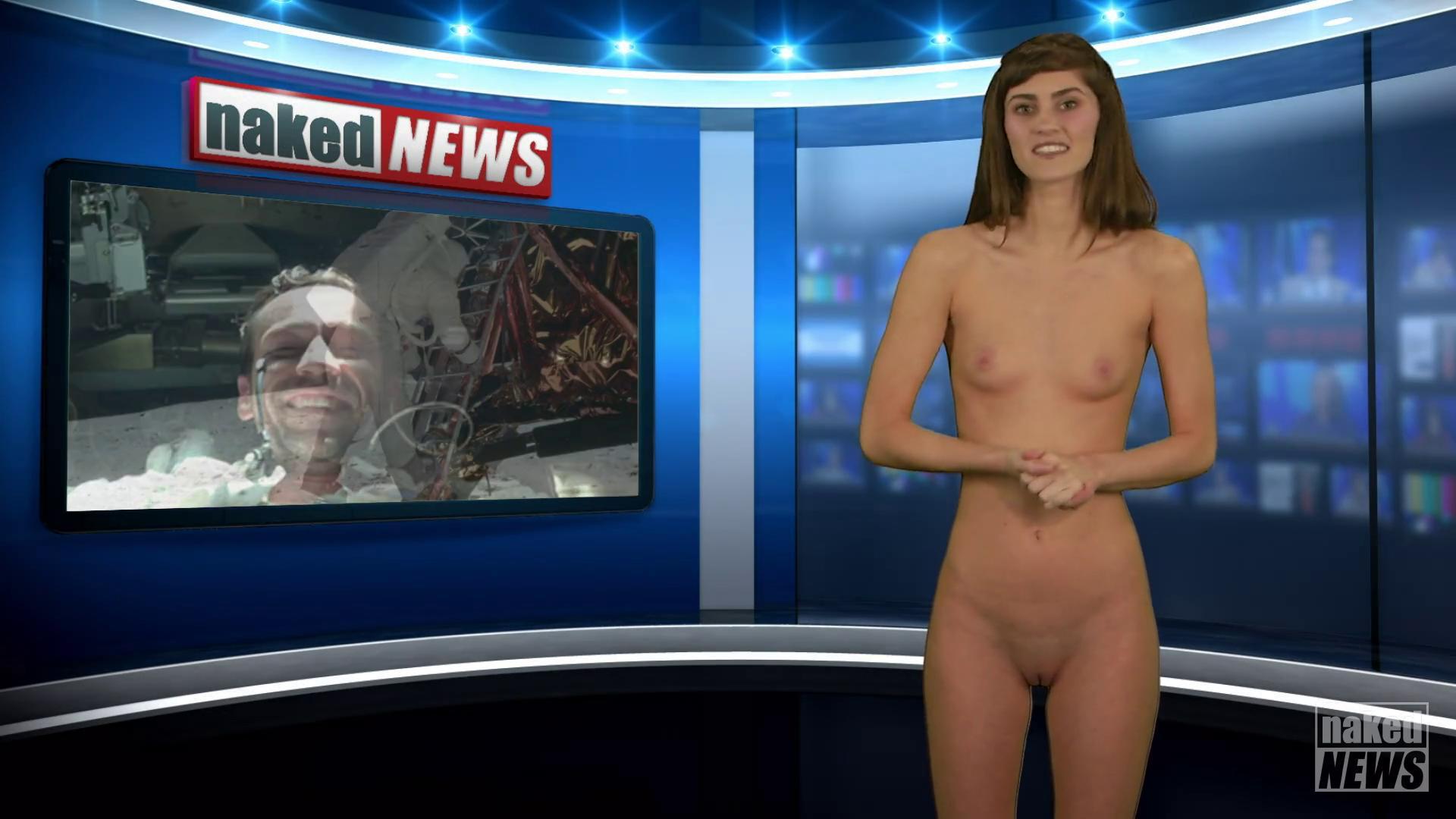 Naked news anchor big boobs