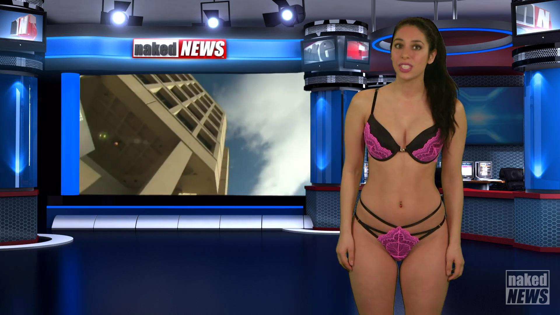 The naked news clips
