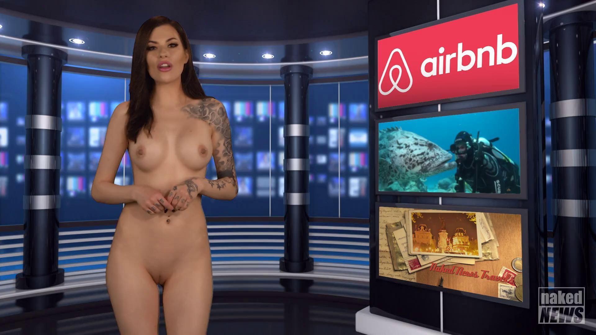 Japanese naked news anchors