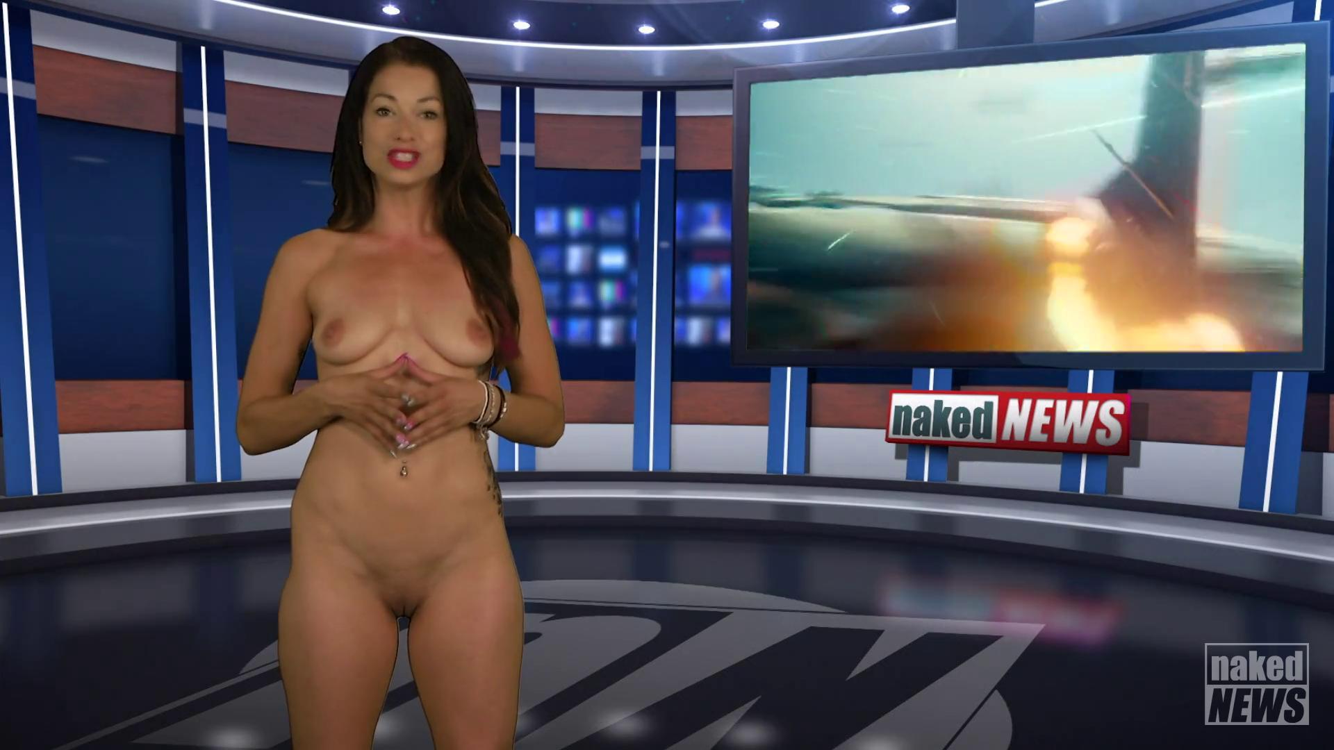 Romesh ranganathan strips off for naked news