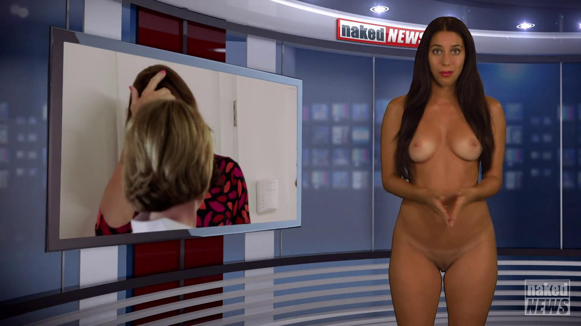 Naked news report