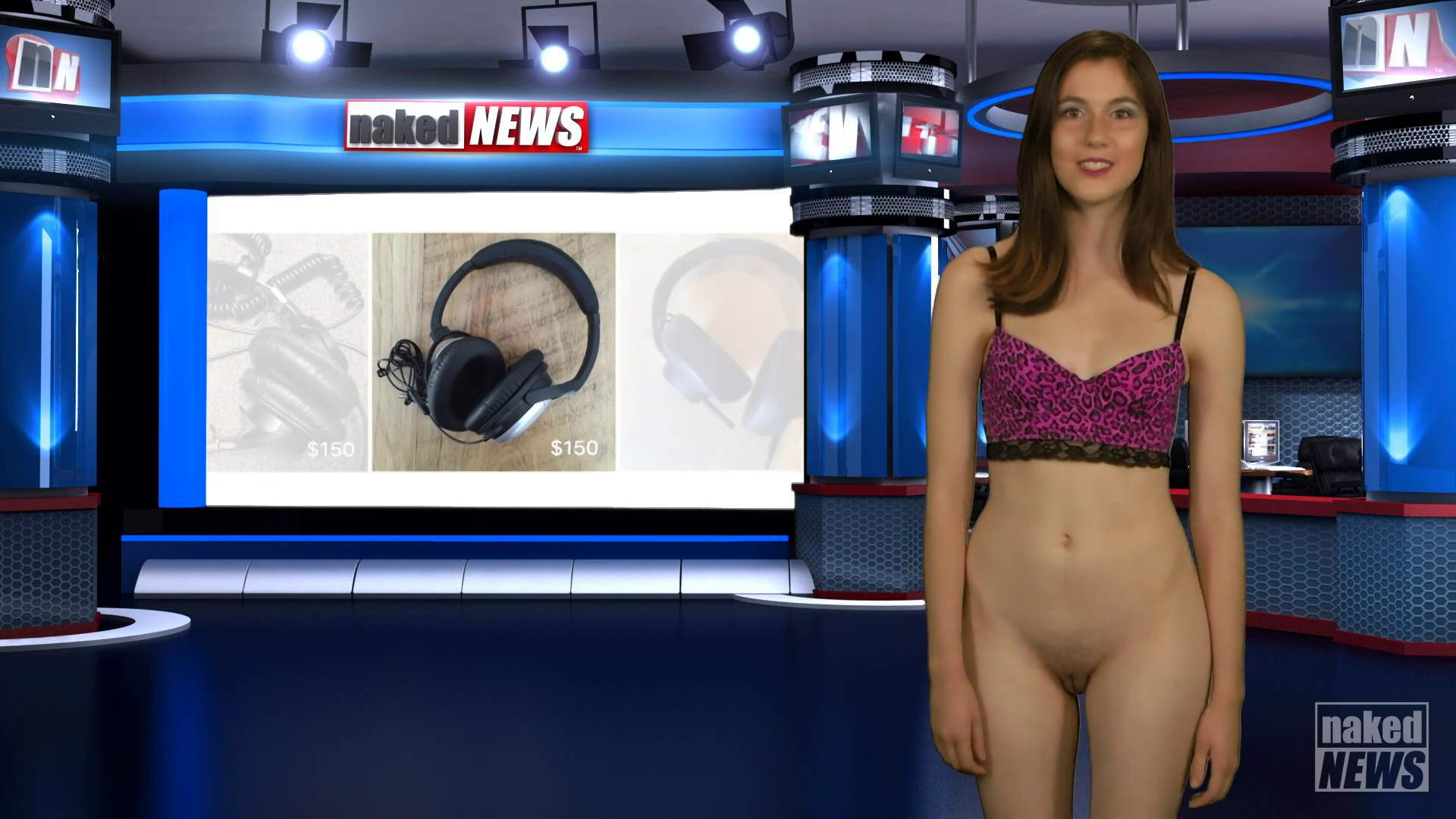 Video roxanne west naked news vid