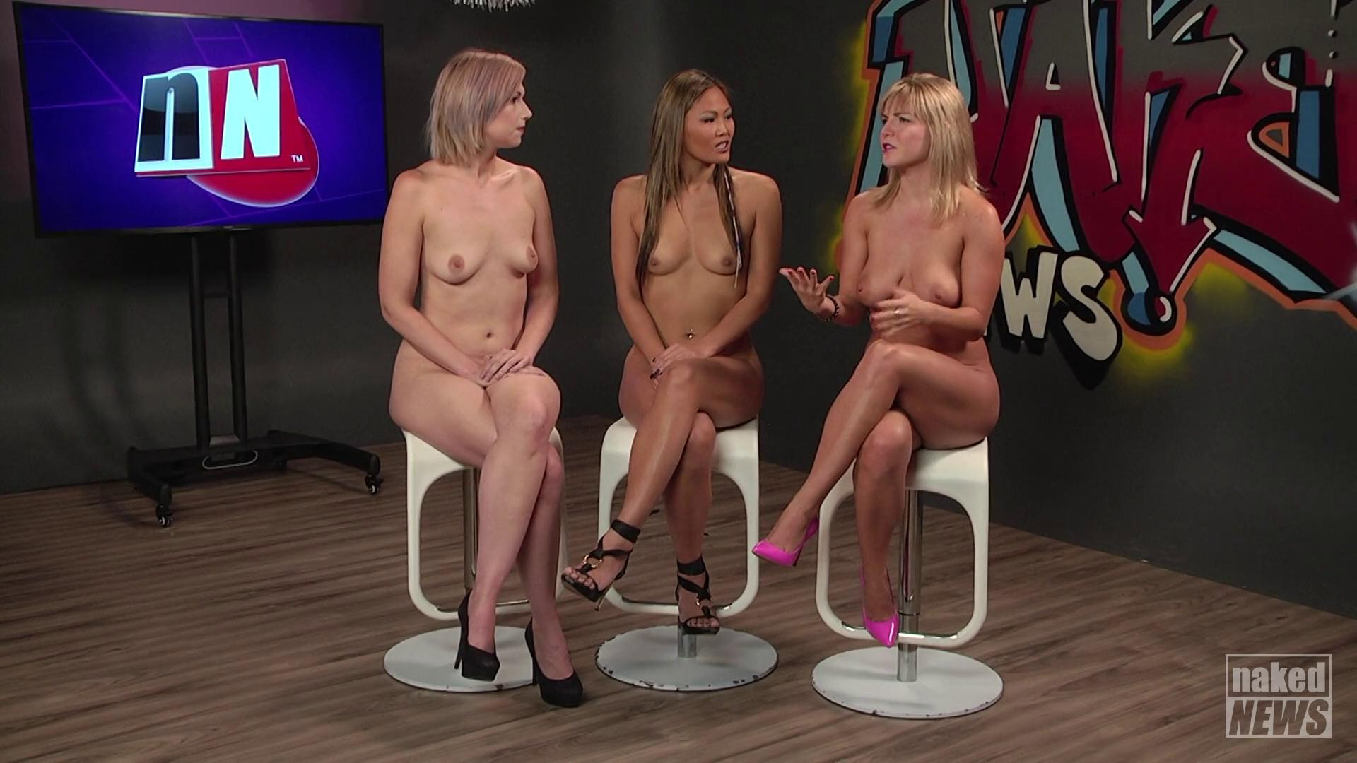 Tv presenter downblouse nude nipples on live tv streaming porn