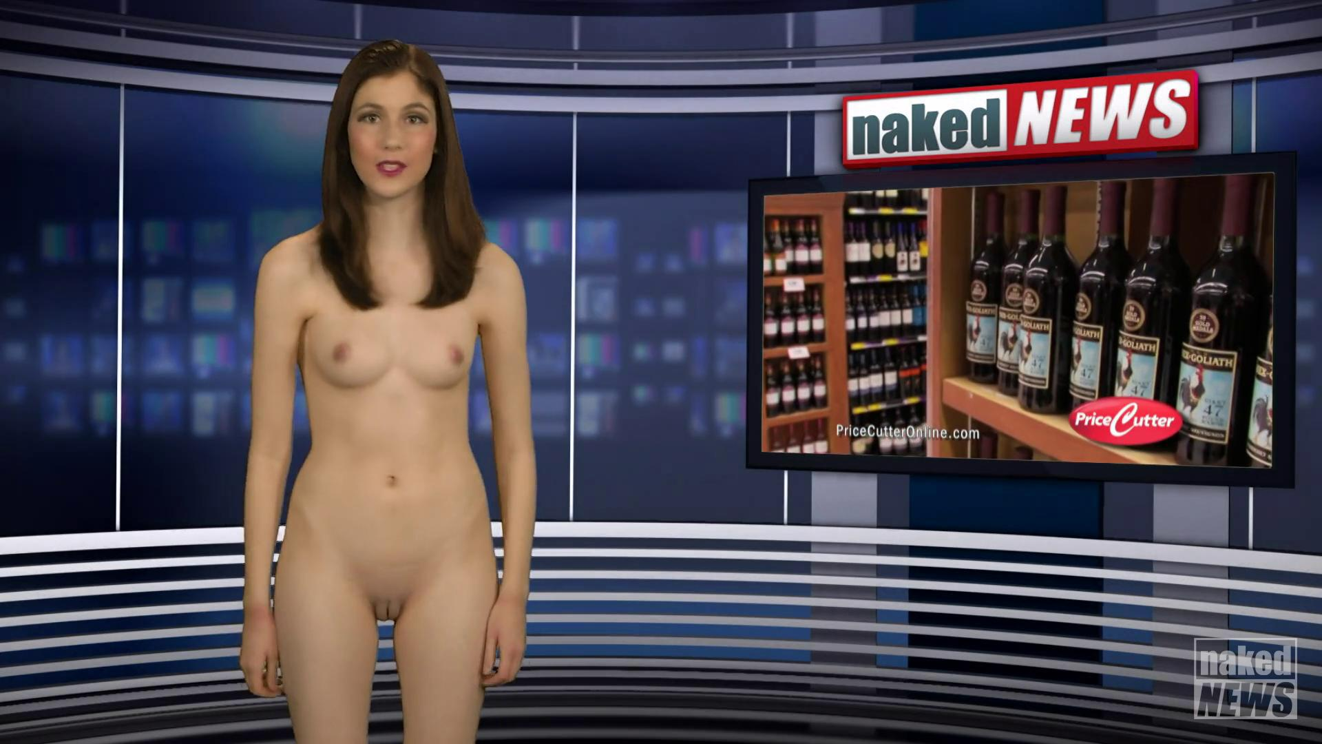 Naked news reader of indian origin