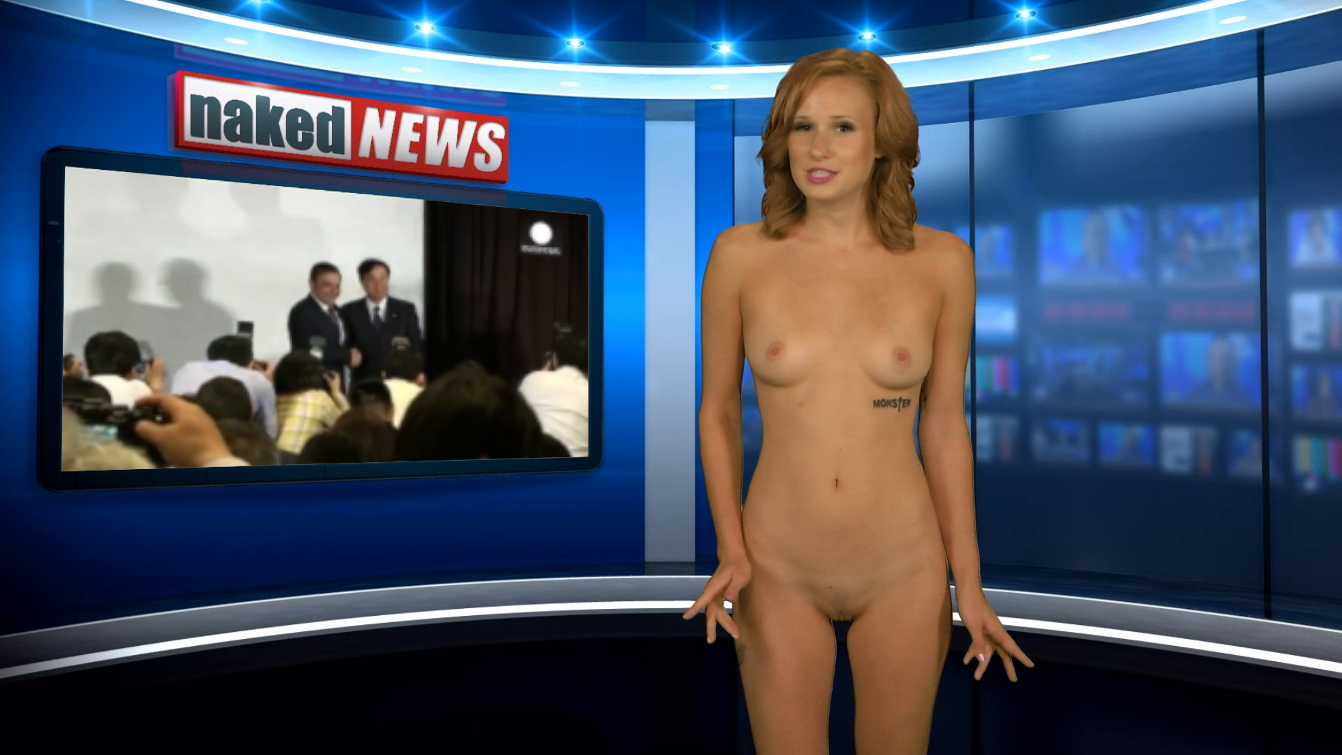 Naked News Is Hot