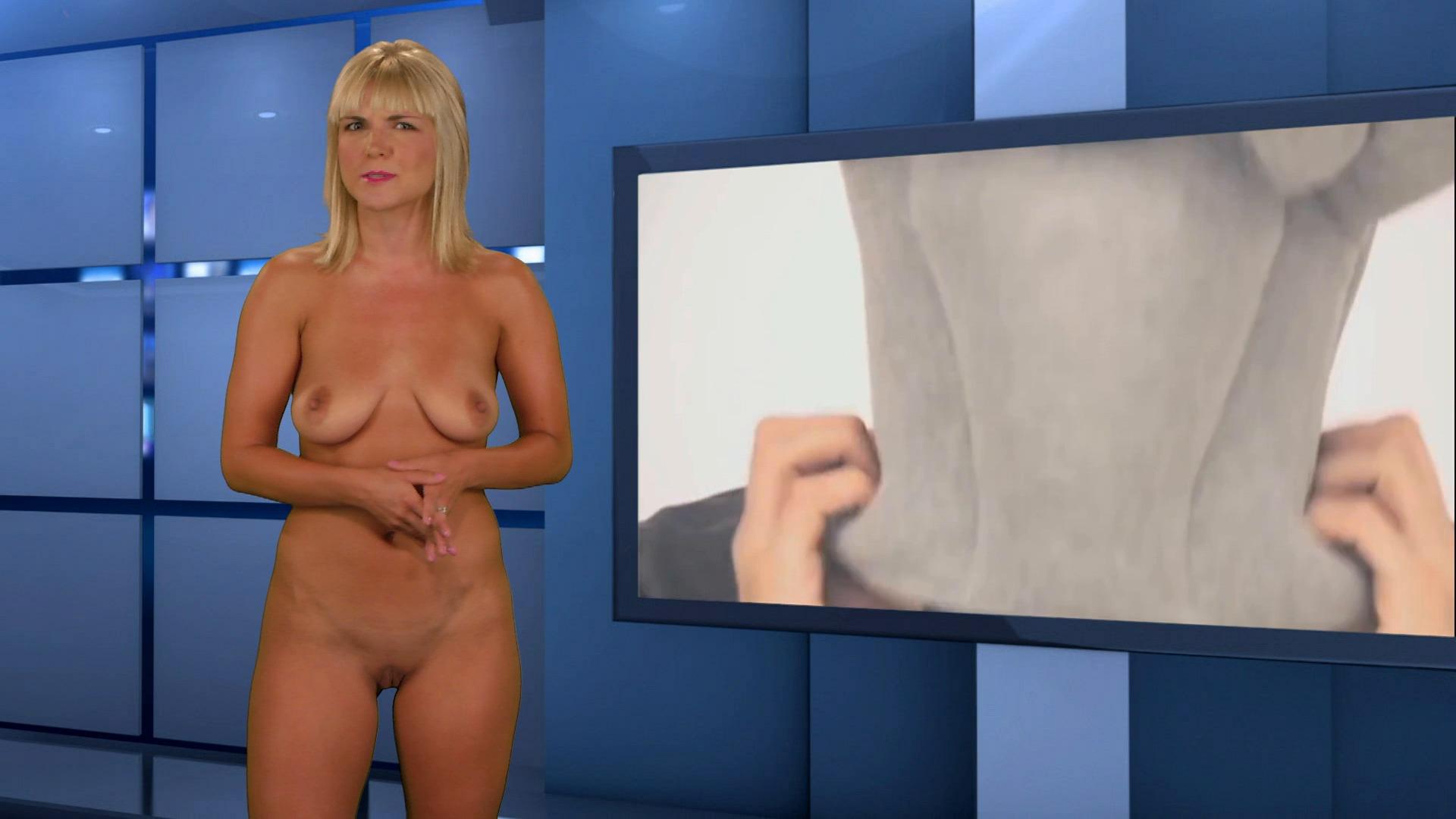 Italian Nude Newsreaders