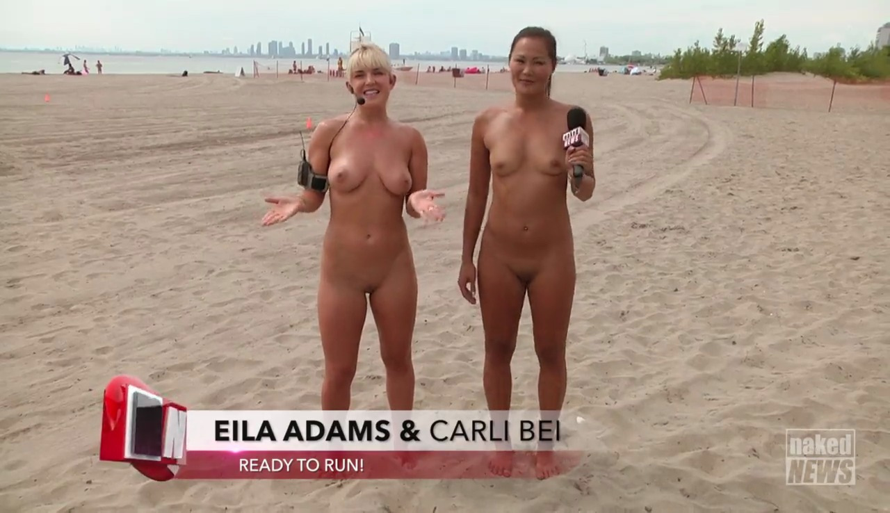 Precisely naked news eila adams are certainly