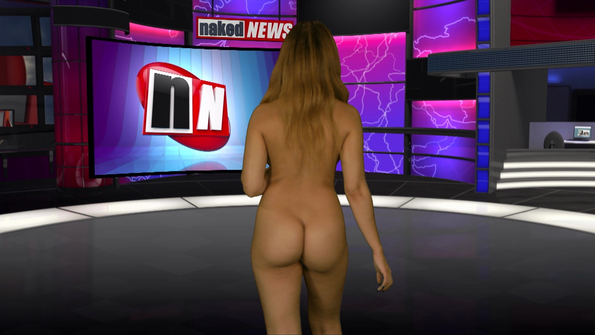 Chloe's naked news audition