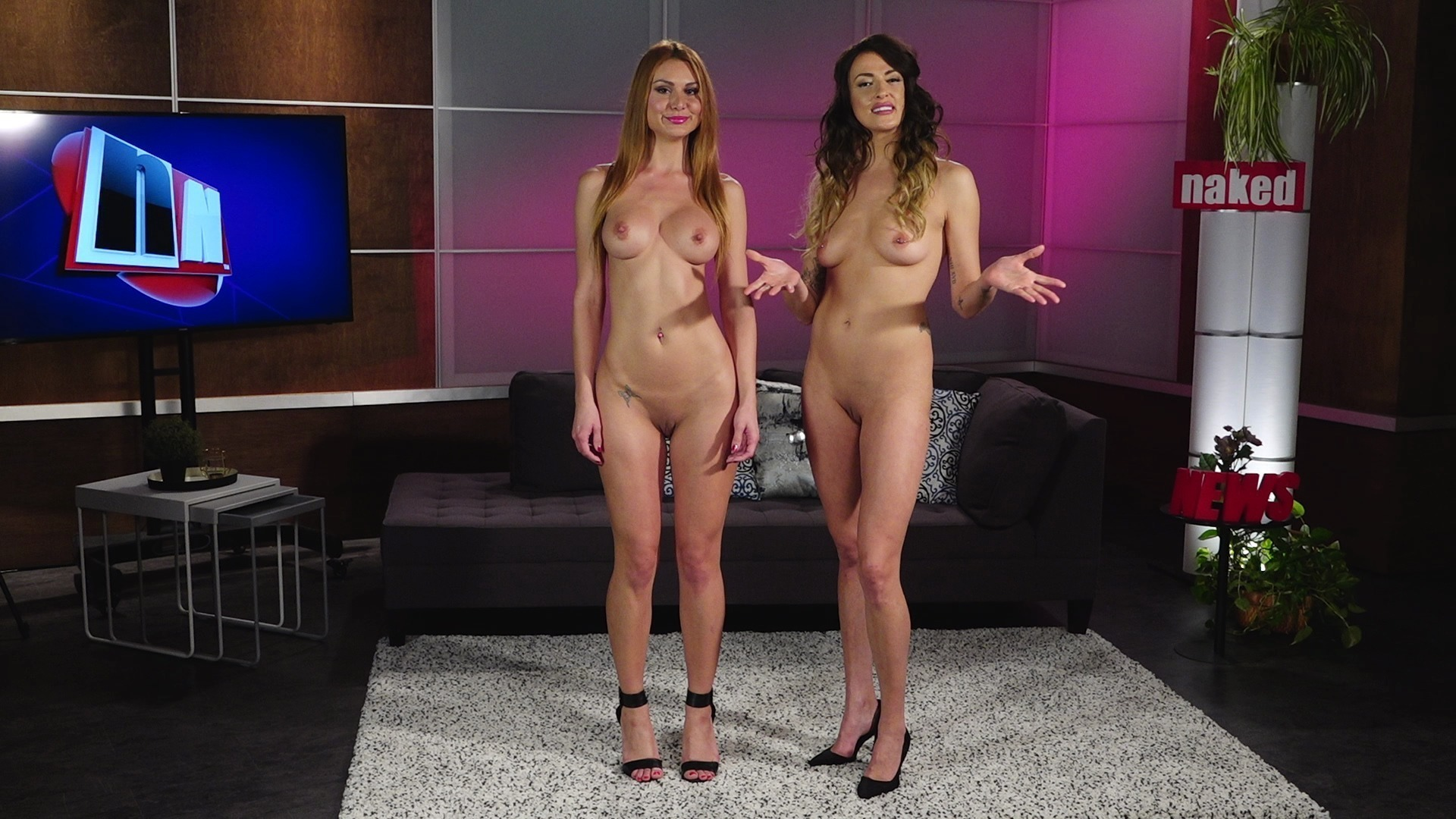 Cold weather naked women