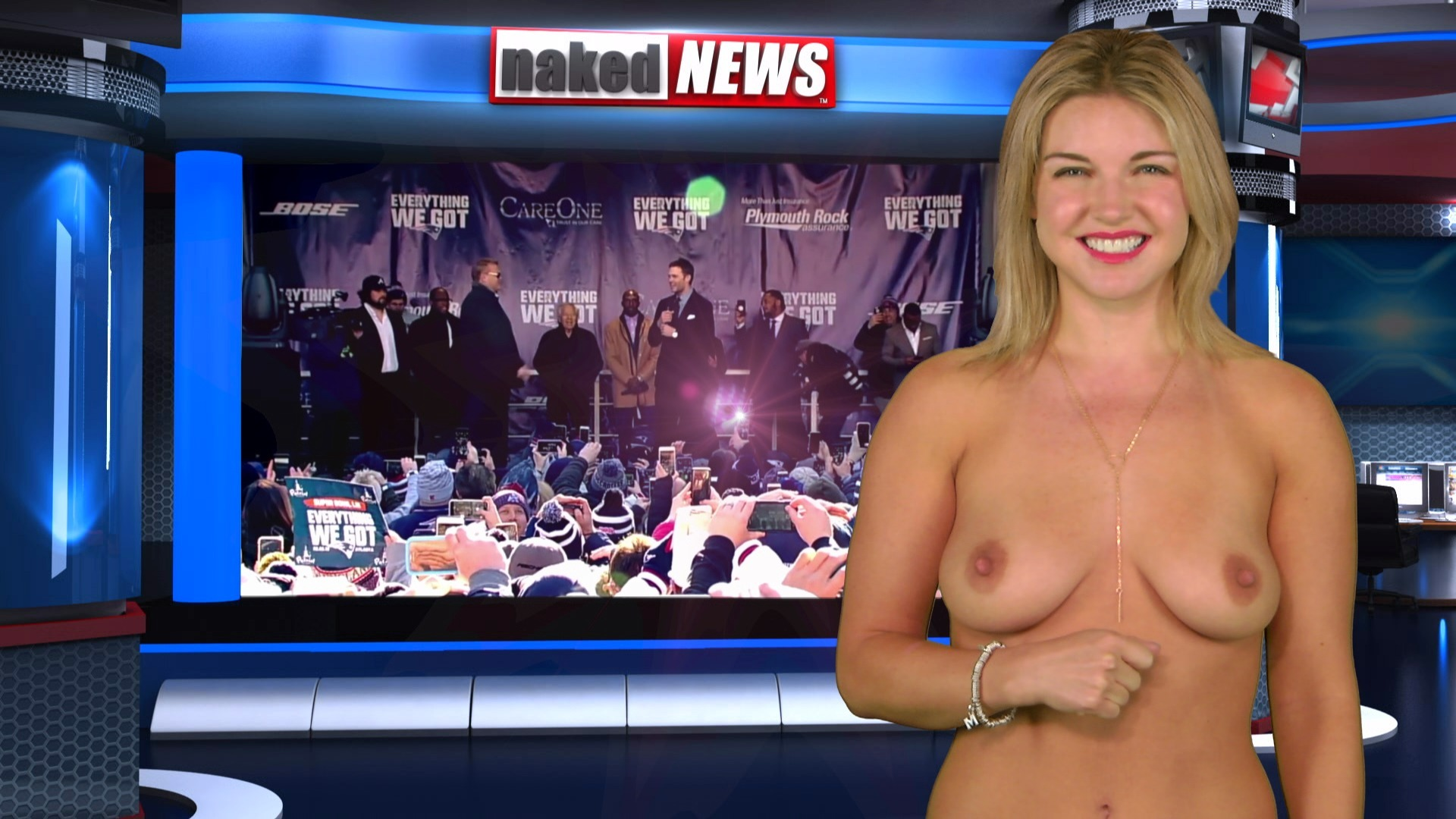 Naked broadcasters
