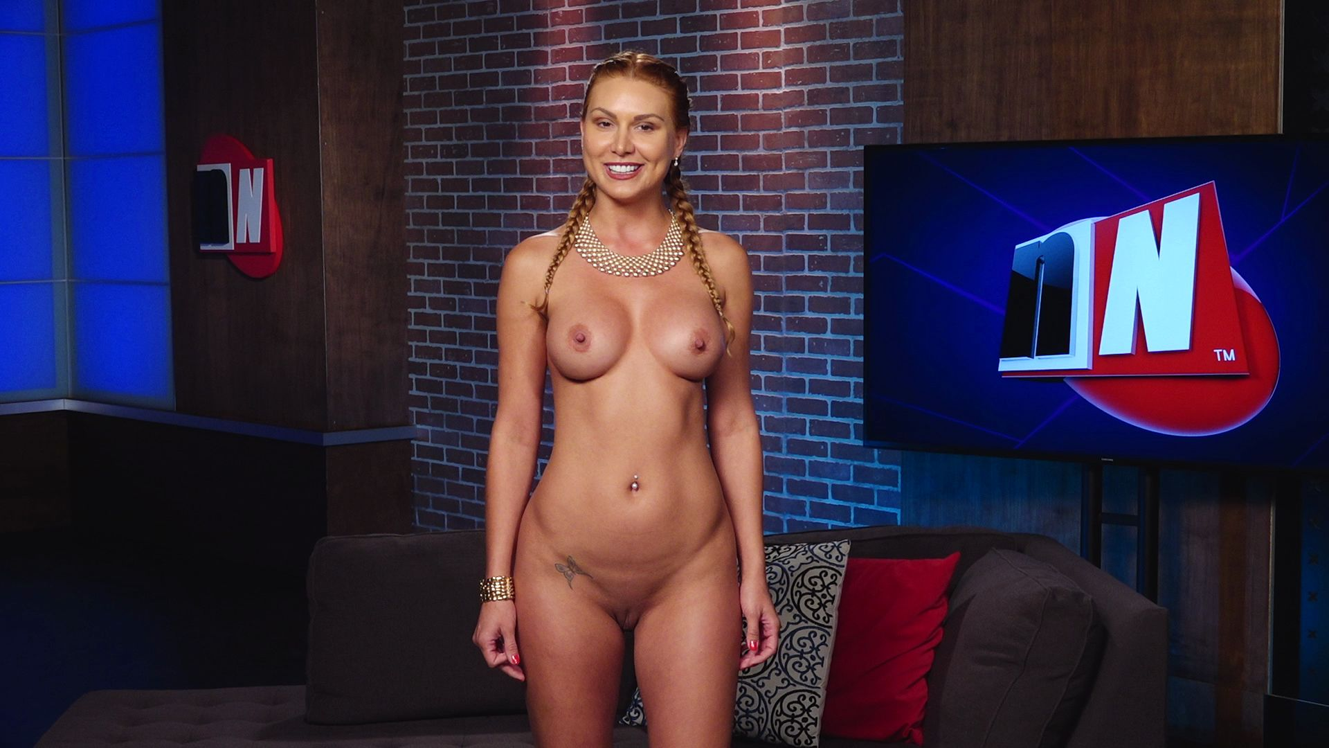 Nude Indian Origin News Anchor