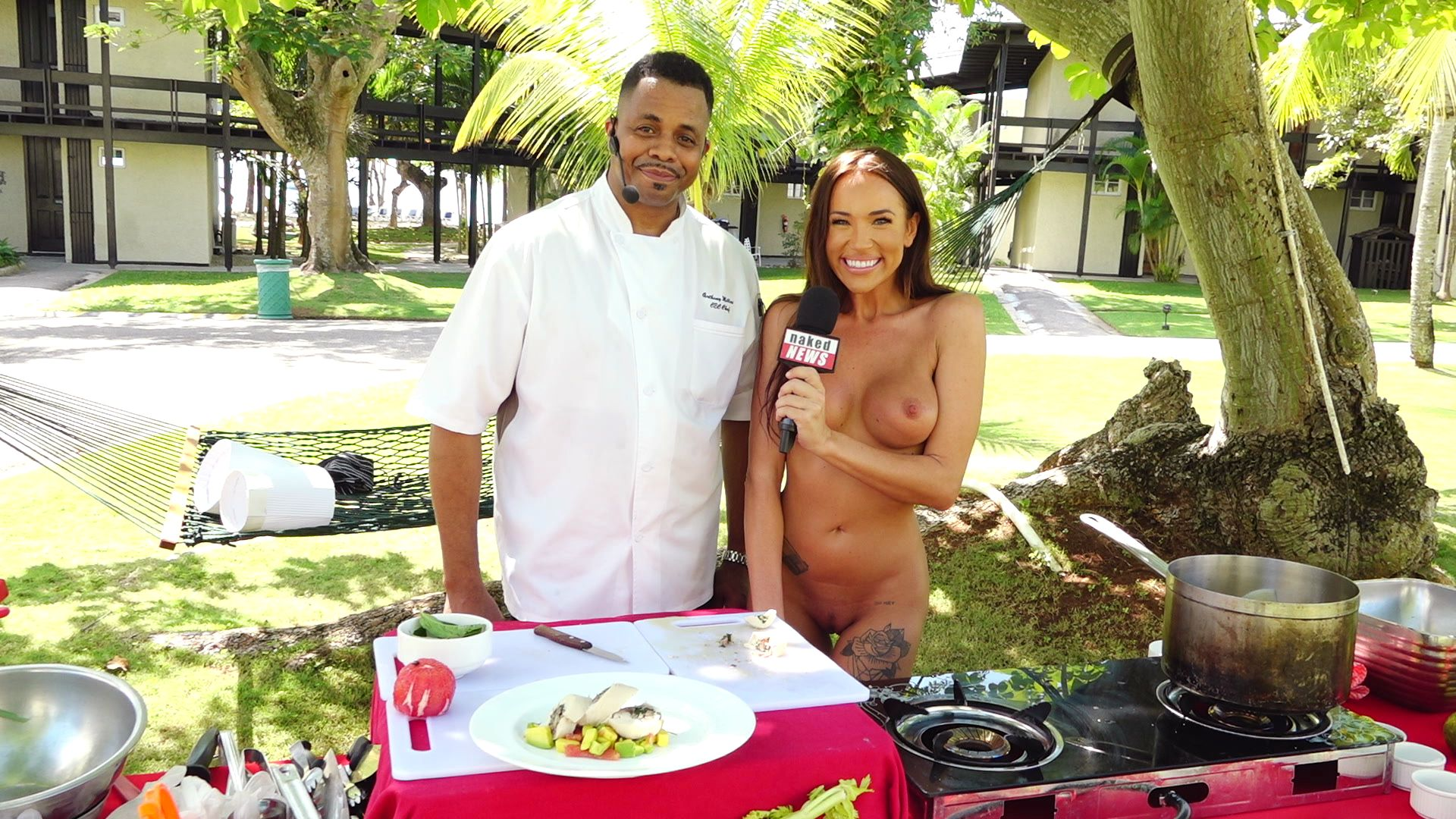 Naked Cooking Show